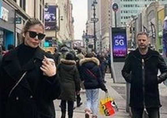 Ana Mihajlovski i Goran Stamenković tokom boravka u Njujorku