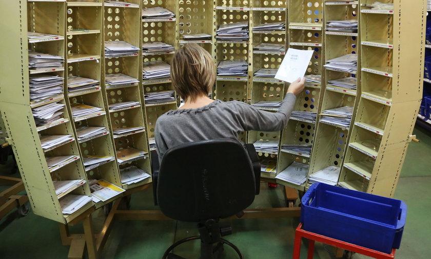 sortownia listów
