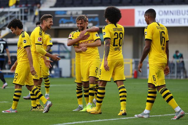 Detalj sa meča Dortmund-Paderborn