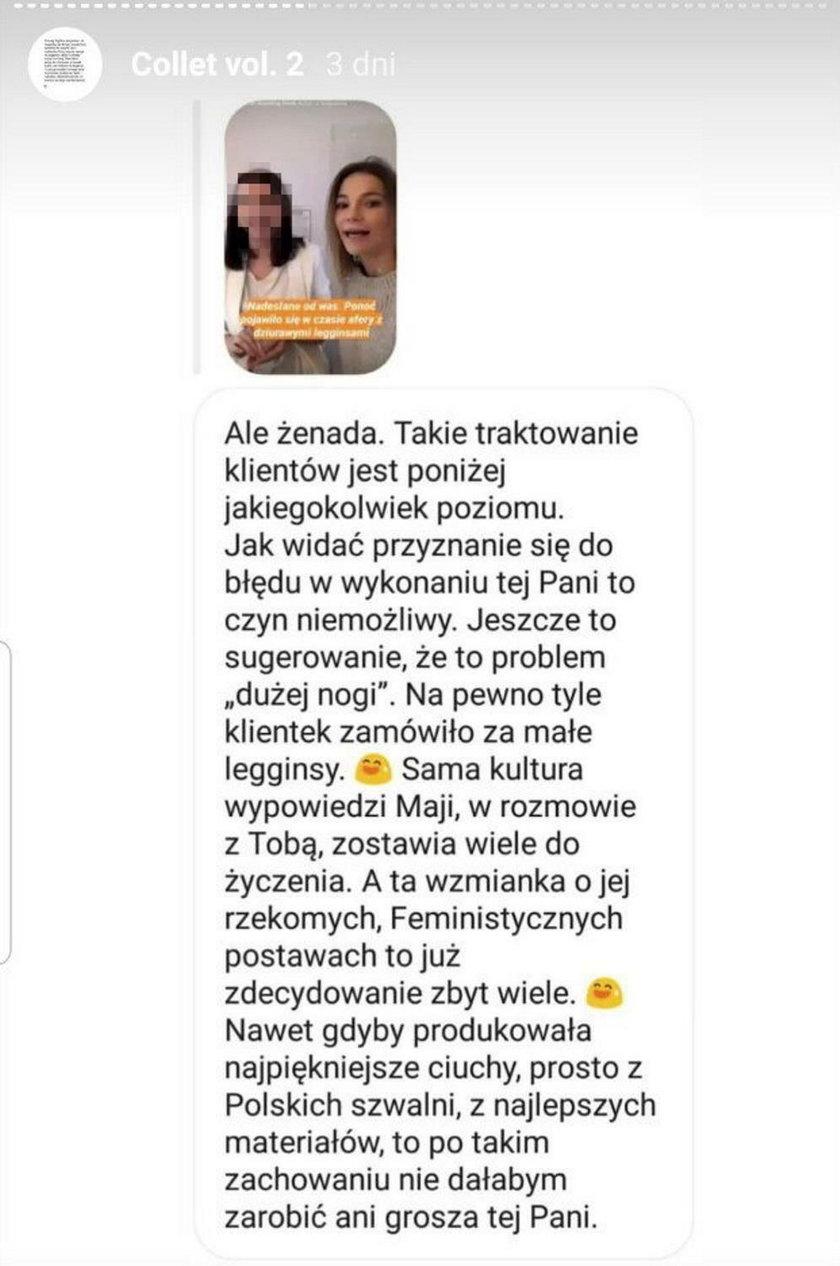 Maja Bohosiewicz o ogniu ostrej krytyki