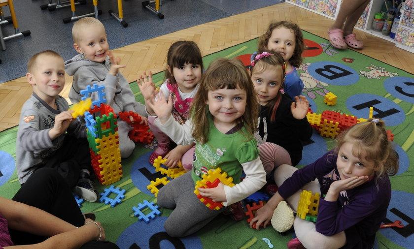 dzieci ze żłobka i przedszkola