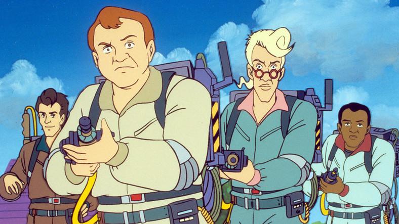 "Kadr z serialu ""The Real Ghostbusters"""