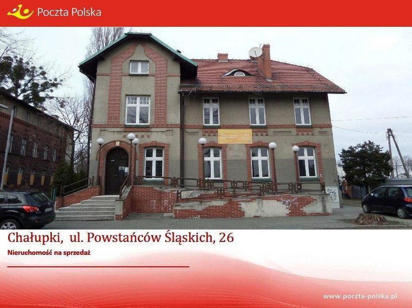 Budynek Poczty Polskiej w Chałupkach