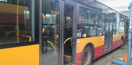 Ostrzelali autobus z wiatrówki?