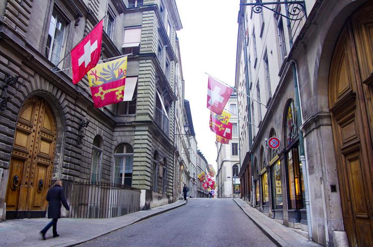 Švajcarska, Ženeva