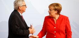Spór między Junckerem a Merkel o Polskę