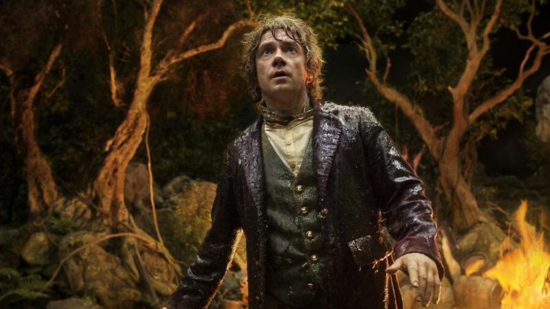 """Kadr z filmu """"Hobbit: Niezwykła podróż"""" (reż. Peter Jackson)"""