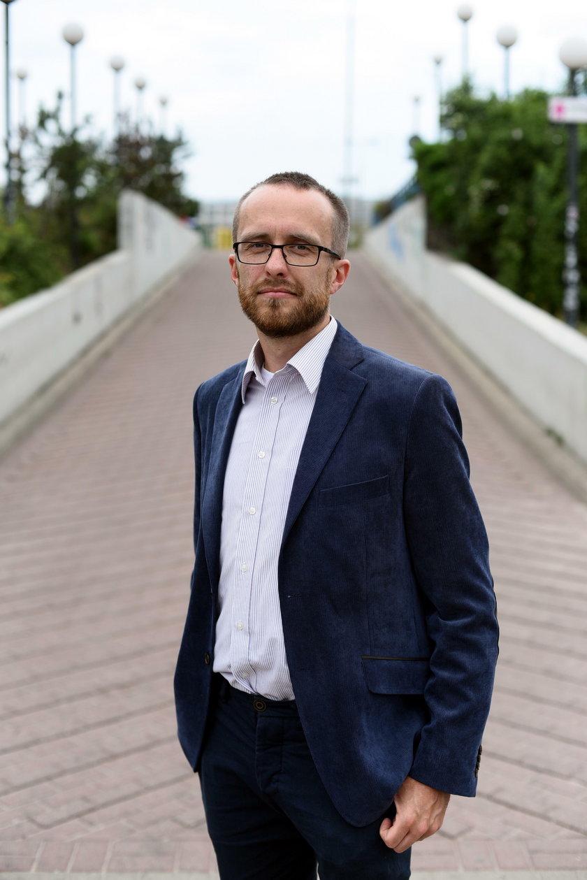 dr n. med. Marcin Folwarski, specjalista chirurgii ogólnej ze Szpitala Wojewódzkiego w Gdańsku
