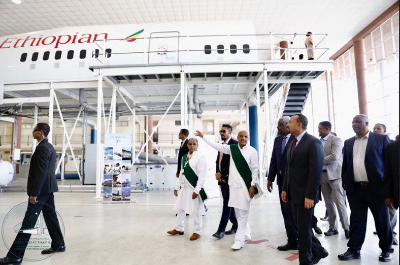 Ethiopian Prime Minister Abiy Ahmed has inaugurated the newly expanded Addis Ababa Bole International Airport terminal, the biggest airport aviation hub in Africa.
