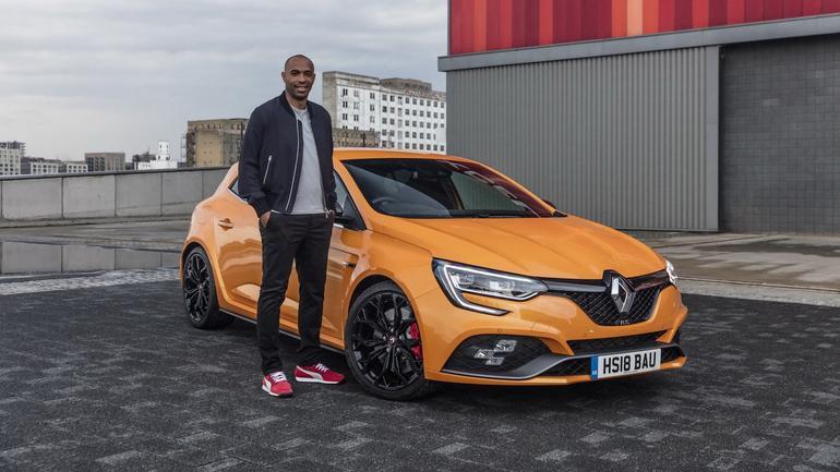 Thierry Henry ambasadorem marki  Renault