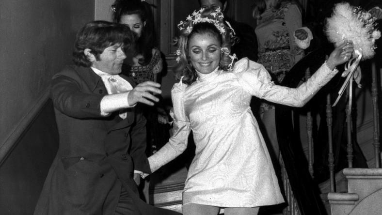 Zobacz ślub Romana Polańskiego i Sharon Tate