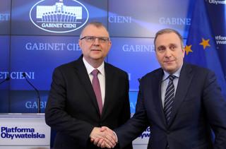Cimoszewicz: Ujazdowski powinien przeprosić i wtedy zaczynać współpracę z PO