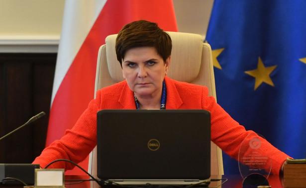 """Szefowa polskiego rządu dodała, że warto w tym miejscu wspomnieć """"o najbardziej kompleksowym polskim projekcie rozwojowym"""", jakim jest Centralny Port Komunikacyjny"""