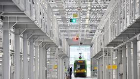 Największa i najnowocześniejsza zajezdnia tramwajowa w Europie