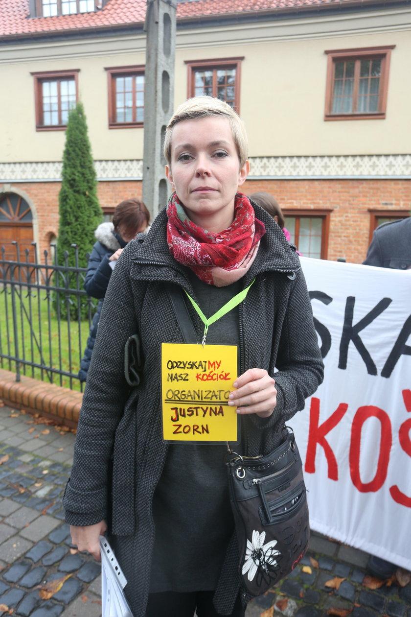 Justyna Zorn, jedna z organizatorek akcji
