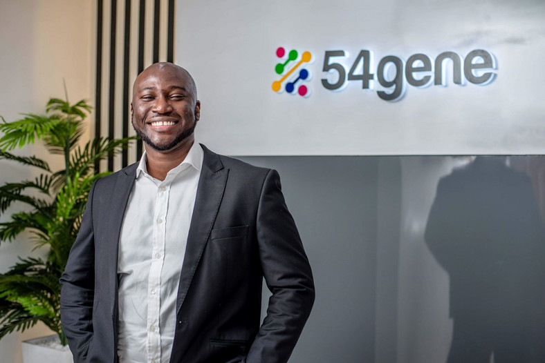 Dr Abasi Ene-Obong, CEO of 54gene