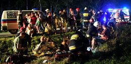 Koszmarny wypadek autobusu na Podkarpaciu. Świadkowie: widok był straszny
