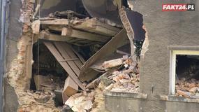 Wybuch gazu w Mirsku zniszczył kamienicę