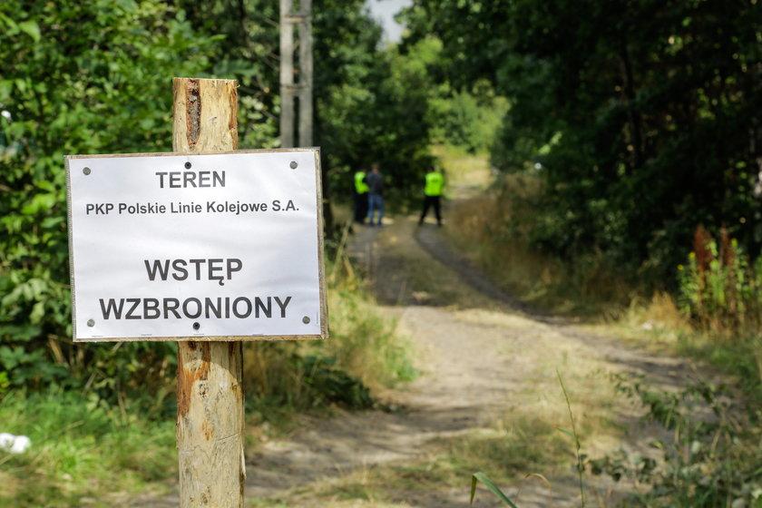 Okolice 65. kilometra trasy kolejowej Wrocław-Wałbrzych
