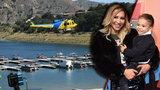 Aktorka zaginęła na jeziorze. Znaleziono jej synka. Jest nagranie z monitoringu