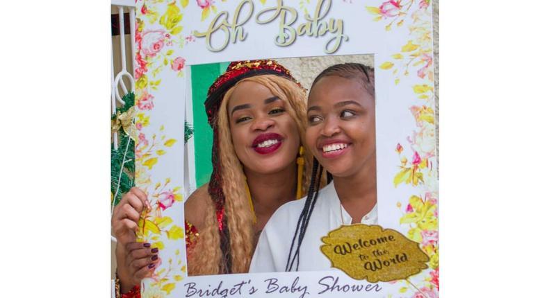 Bridget Achieng's baby shower (Instagram)