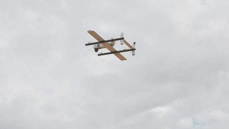 HQ-40 UAV - nowy rekord najdłuższej dostawy dronem