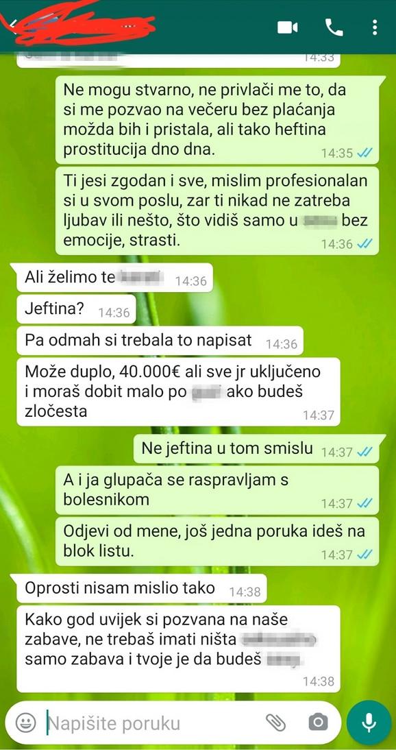 Ava Karabatić prepiska