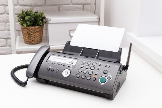 Niektóre ustawy mogą wyłączać możliwość wnoszenia podań faksem