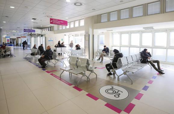 Unutrašnjost bolnice