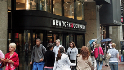 New York & Co. and Fashion to Figure's parent company has filed for bankruptcy