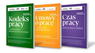 """""""Kodeks pracy"""", """"Czas pracy"""" i """"Umowy o pracę"""" – specjalistyczne dodatki do """"Dziennika Gazety Prawnej"""""""