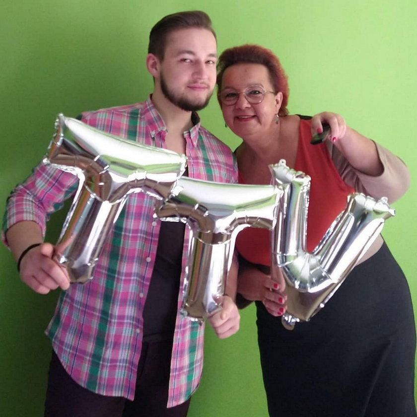 Izabela Zeiske z synem