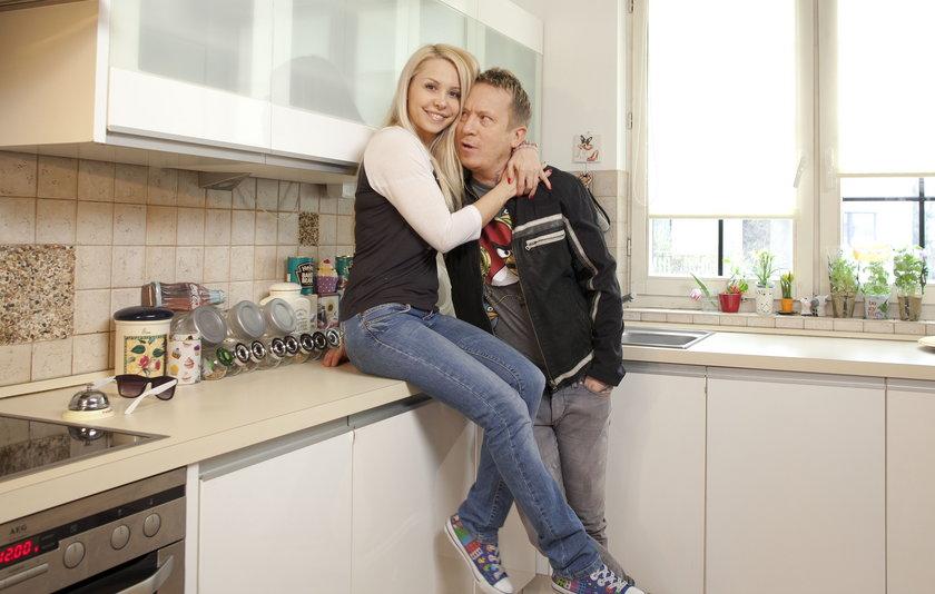 Ewa i Tomek Lubertowie lubią jasne proste wnętrza