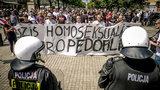 Marsz Równości w Częstochowie. Policja musiała użyć siły!