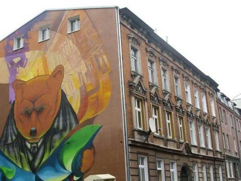 Nowy mural w bydgoszczy jak wam si podoba kujawsko for Mural warszawa 44