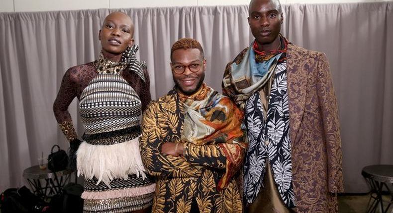 Black Panther costume designer Wale Oyejide