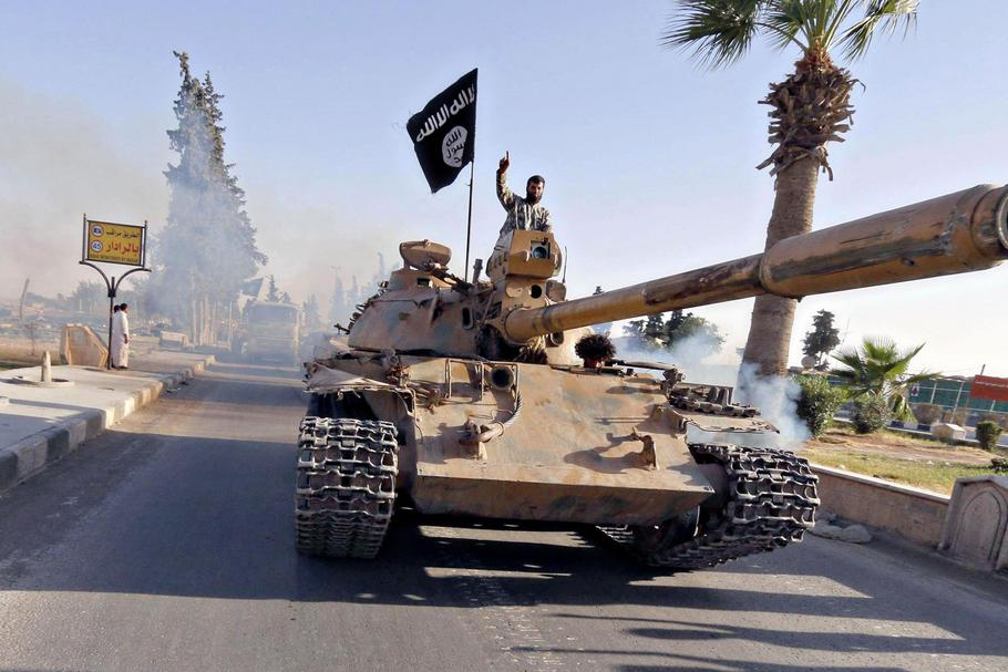Islamic State of Iraq and the Levant Fighters Parade