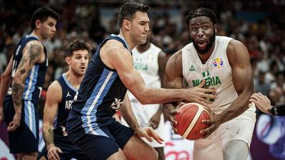 D' Tigers of Nigeria lose 94-81 to Argentina in 2nd straight defeat in the group stage of 2019 FIBA World Cup