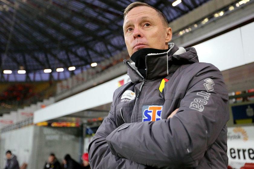 Sobotnia porażka z Zagłębiem przesądziła, że szkoleniowiec zostanie zwolniony z Jagiellonii.