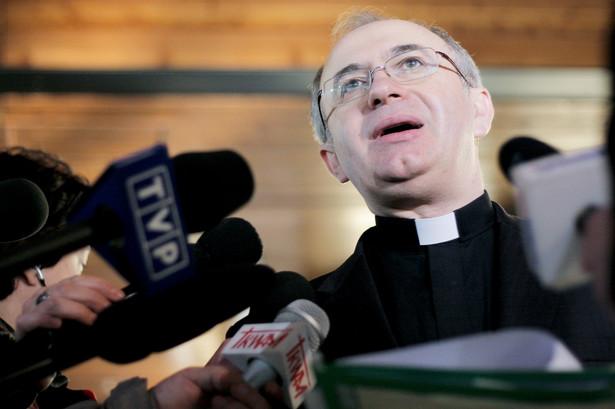 Ks. Józef Kloch, rzecznik Konferencji Episkopatu Polski