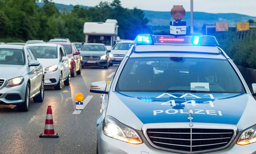 Pijany Polak szalał po niemieckiej autostradzie