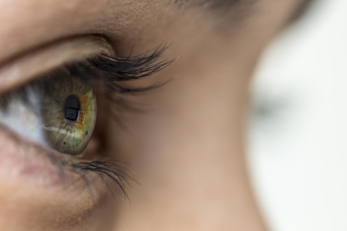 égő szem; homályos látás
