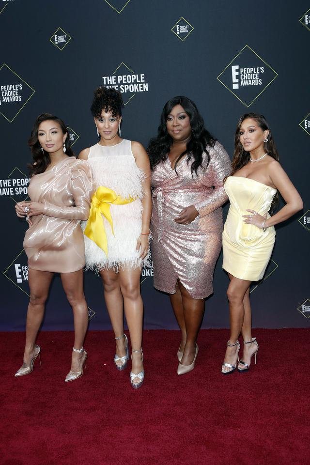 People's Choice Awards 2019: Jeannie Mai, Tamera Mowry-Housley, Loni Love i Adrienne Houghton