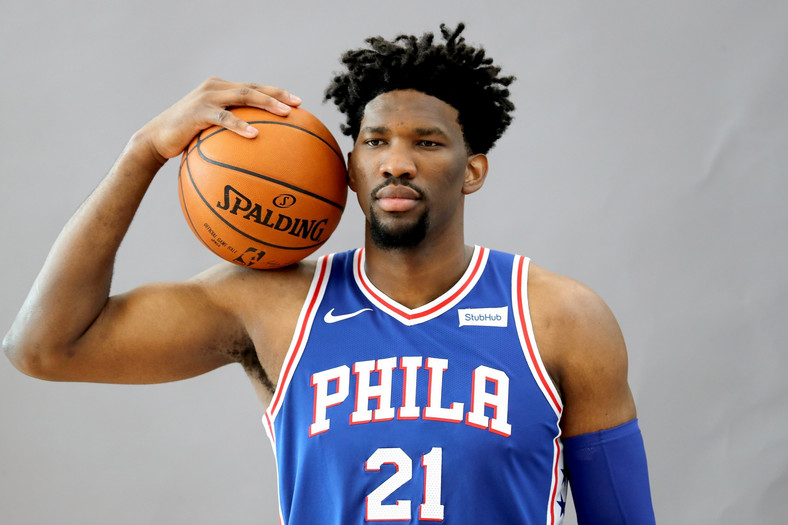 Joel Embiid - a Cameroonian professional basketball player for the Philadelphia 76ers (newsweek)