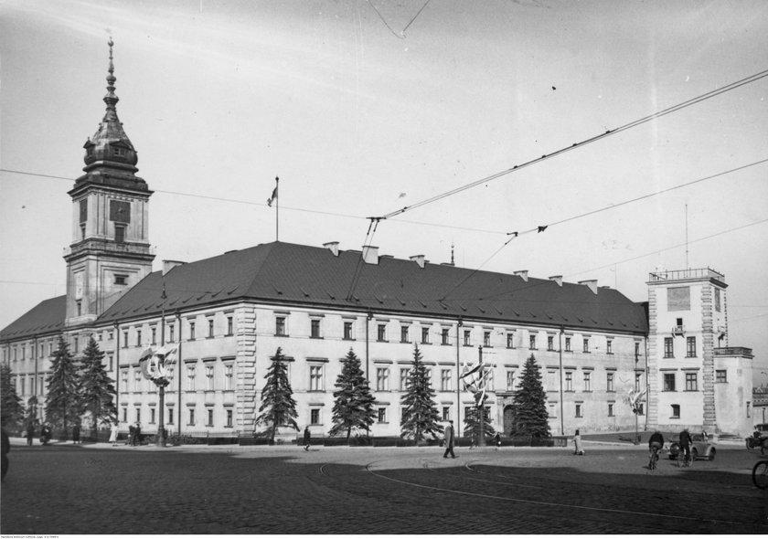 Zamek Królewski / 1938