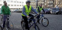 Urzędnicy na rowerach