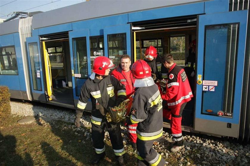 Tragiczne zderzenie tramwajów. 22 osoby w szpitalu
