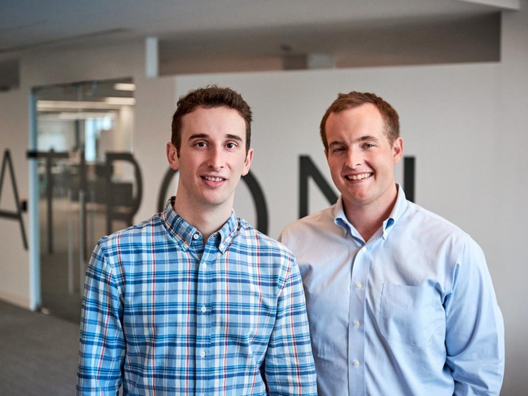 Zach Weinberg i Nat Turner, założyciele Flatiron Health