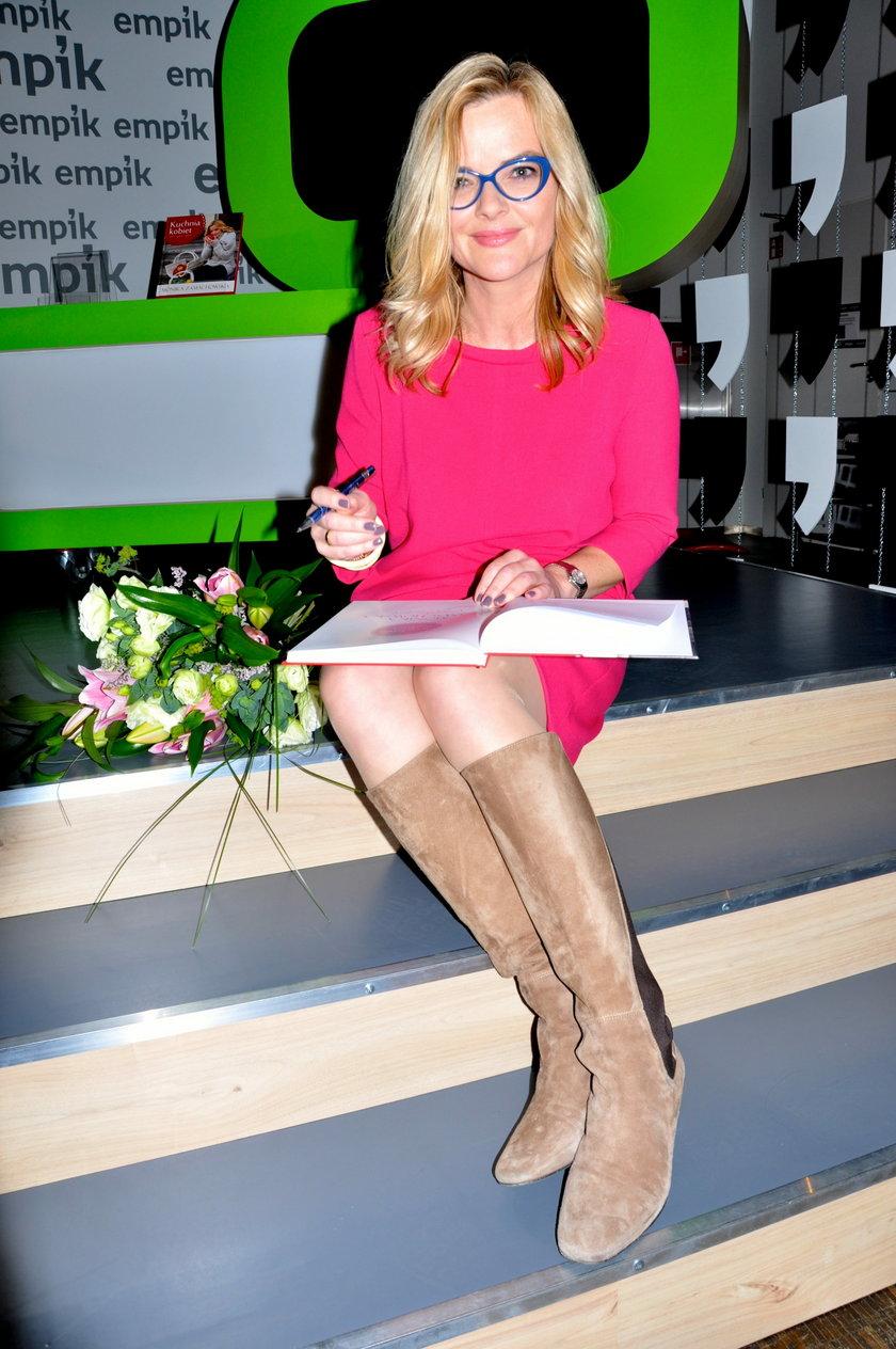 Monika Zamachowska w sierpniu 2014 roku