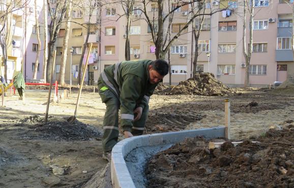 Goran na svom dnevnom poslu
